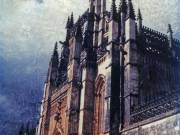 Cathedral and Sky, Spain, 2002 - Juanita Hemanes © Copyright 2011
