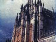 Cathedral and Sky, Spain, 2002 - Juanita Hemanes © Copyright 2011