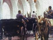 Horse Carriages, Spain, 2002 - Juanita Hemanes © Copyright 2011