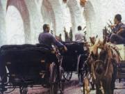 Horse Carriages, Spain, 2002 - Juanita Hemanes © Copyright 2011