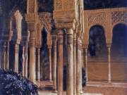 Pillars and Arches, The Alhambra, Spain, 2002 - Juanita Hemanes © Copyright 2011