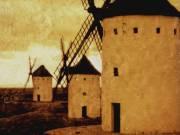 Windmills, La Mancha, Spain, 2002 - Juanita Hemanes © Copyright 2011